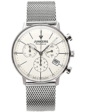 Junkers Damen-Armbanduhr Chronograph Quarz Edelstahl 60895M