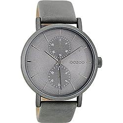OOZOO Timepieces Grijs Horloge C8686
