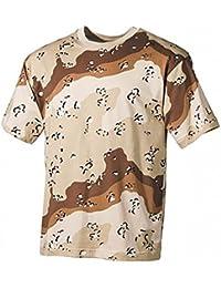 T-Shirt Desert 6 Couleurs Mil-Tec