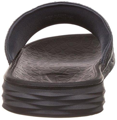 Nike Benassi Solarsoft, Scarpe da Spiaggia e Piscina Uomo Grigio (Dark Grey/Black)