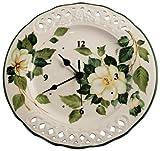 Tiffani Boutique Orologio cm 32 Camelia in Ceramica