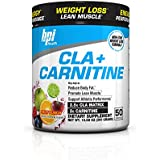 BPI Sports Cla + Carnitine Weight Loss Supplement Powder, Fruit Punch, 50 Servings