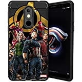 MTT Avengers Infinity War Officially Licensed Armor Back Case Cover for Redmi Note 5 (Design 265)