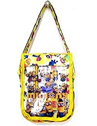 Must Visit Kids Love Cartoon Character Yellow Sling Bag For Kids