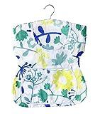 Wenko 3714010100 Wäscheklammer-Kleid, 100% Baumwolle, 33 x 37 x 1 cm, Mehrfarbig
