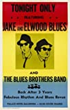 The Blues Brothers reproduction Concert photo affiche 40x30cms