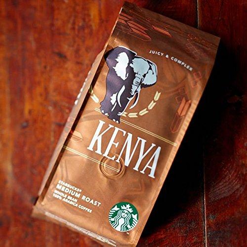 STARBUCKS Kenya 100% Arabica Kaffee Bohnen Medium (Harmonisch, sanft und intensiv), 1er Pack (1 x...