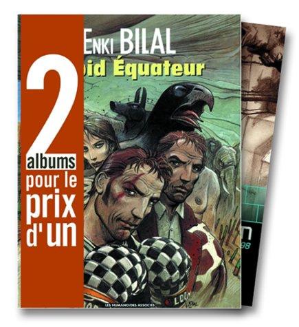 2 albums pour le prix d'1 : Froid équateur + XXe ciel.com, tome 1 en cadeau par Enki Bilal