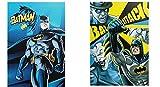 Warner Bros Batman set 2 quaderni maxi A/4 Rigo Q