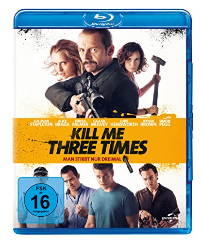 Kill Me Three Times - Man stirbt nur dreimal  [Blu-ray]