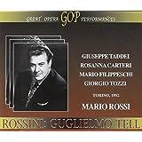 Guglielmo Tell (Rossi, Rai Turin Chorus & Orchestra, Taddei)