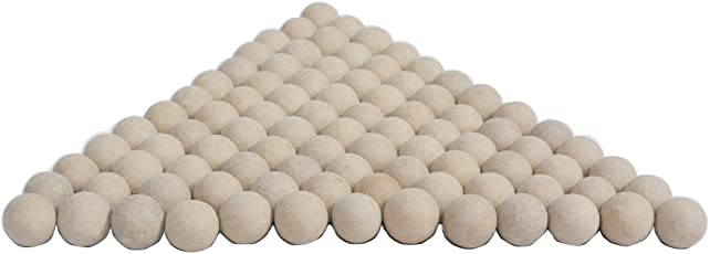 UNTOLD Professional Slingshot Ammo Biodegradable Hard Clay Ball (Multicolour, 3/8-inch/10mm) - 100 Pieces Per Pack