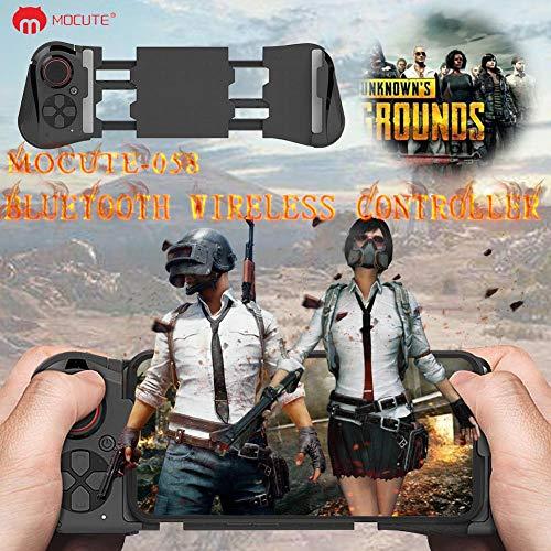 Mimir-T Game-Controller, 1 Stück, kabellos, Bluetooth Gamepad Joystick Fernbedienung für Handy, VR, PC, TV, Gamingpad, Schwarz, verstellbare Handsteuerung für Spiele