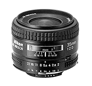 Nikon AF Nikkor 35 mm/2,0 D Objektiv (52mm Filtergewinde) (B00005LE72) | Amazon Products