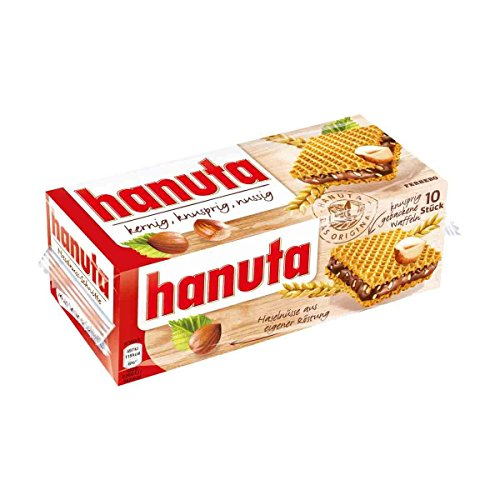 Hanuta - Pack of 10 Wafers (220 gram)