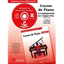 Piano Lessons Book 5 - CD - French Edition: Hal Leonard Student Piano Library