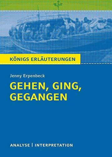 Gehen Ging Gegangen Königs Erläuterungen Textanalyse Und