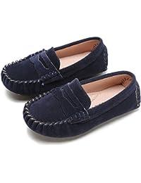 d85ca8534da Sunny Baby Garçons Mocassins Chaussures Enfants Mocassins Slip on Style  Doux Semelle Antidérapante Facile on   Off