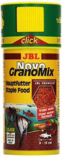 JBL d'aliments pour petits poissons d'aquarium, granulés, novogranomix