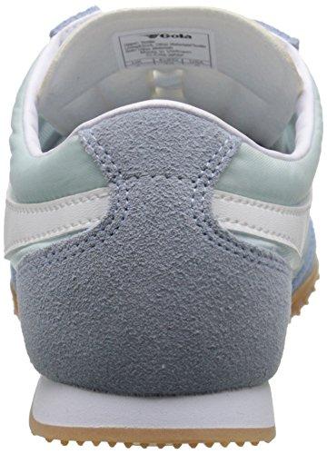 Gola Damen Wasp Sneakers Blau (Kentucky Blue/White)