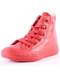 CONVERSE 344744C ALL STAR HI RUBBER RED SNEAKERS Enfant