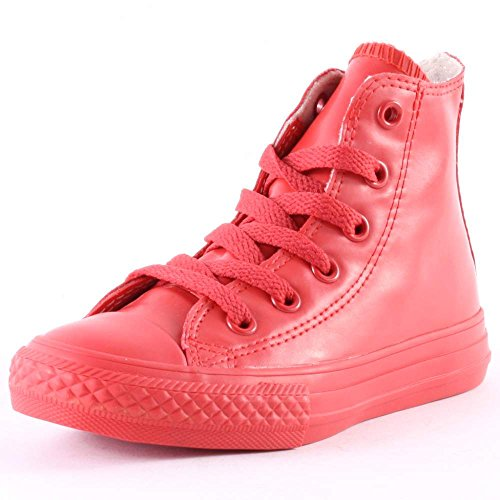 CONVERSE 344744C ALL STAR HI RUBBER RED SNEAKERS Bambino Rosso