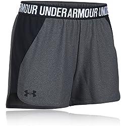Under Armour Play Up Short 2.0 Pantalón Corto, Mujer, Gris (091), S