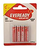 Eveready Super Red AAA Battery, Pack of 4