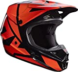 Casque de course Fox V1 Orange, taille XL