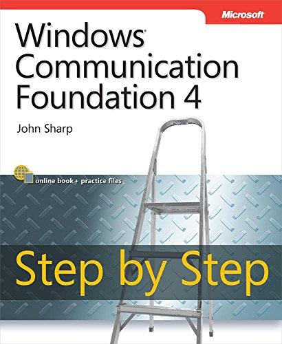 Windows Communication Foundation 4 Step by Step: Wind Comm Foun 4 S by Step_p1 (Step by Step Developer) (English Edition) -