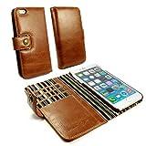 Alston Craig G10_25 Vintage Echt Leder Hülle Tasche Kartenfach Backcover Für Apple iPhone 6 Plus /...