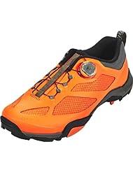 SHIMANO SHMT7PC450SR00 - Zapatillas Ciclismo, 45, Naranja, Hombre
