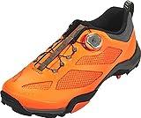 SHIMANO SHMT7PC430SR00 – Fahrradschuhe, 43, Orange, Herren