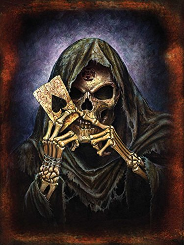 Alchemy Reapers Ace targa placca metallo Stabile piatto Nuovo 30x40cm VS184-1