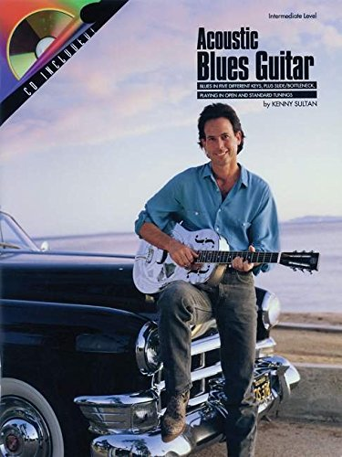 Acoustic Blues Guitar Book/Cd -Album-: Noten, MC Musikkassette für Gitarre