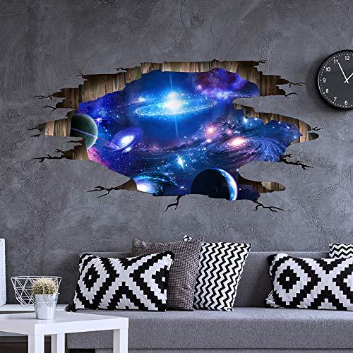reo Aufkleber Universum Silber Wandaufkleber Selbstklebende Miete Haus Renovierung Ornament Tapete Aufkleber Papier ()