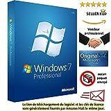 Windows 7 professionnel 32/64 Bits Licence | Français | Clé d'activation originale...