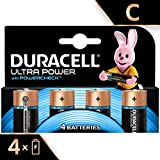 Duracell Ultra Power Alkaline Type C Battery (Pack of 4)