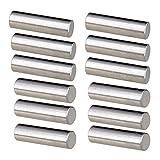 Perfeclan 12 piezas alnico 5 humbucker pickup polepiece imán baquetas 15mm