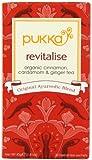 Pukka Organic Revitalise 20 Teabags (Pack of 4, Total 80 Teabags)