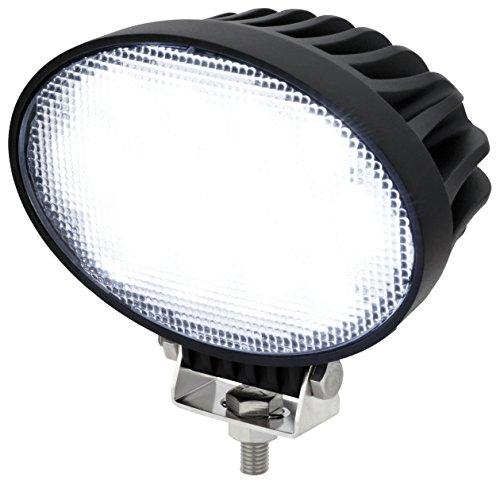 Preisvergleich Produktbild AdLuminis LED Arbeitsscheinwerfer Arbeitsleuchte oval, 65 Watt 5200 Lumen, 60°, 12-24 Volt, IP67 Schutzklasse, 6000K, Zusatzscheinwerfer, Rückfahrscheinwerfer, Suchscheinwerfer