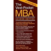 The Vest-Pocket MBA: Second Edition (Vest-Pocket Series) by Jae K. Shim (1997-03-26)