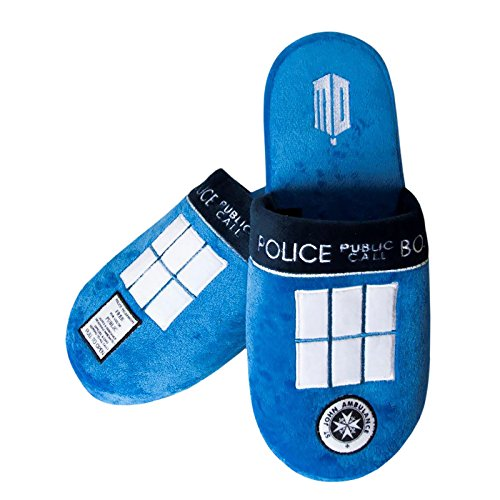 Chausson Dr Who Tardis Taille 42-45