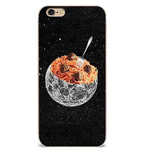 Iphone 7 Hülle Kreativ Interessant Lachs Schokolade Muster Silikon TPU Schutzhülle Ultradünnen Case Schutz Hülle für iPhone 7 YM110