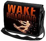 Umhänge Schulter Tasche Sport Wakeboard Bedruckt