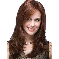 XNWP-Moda capelli Capelli dritti parrucca diagonale di colore bangs wig/ style ad alta temperatura i capelli a filo