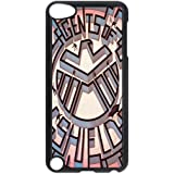 Black/White Sides Classic Style Custom Unique Agents of S.H.I.E.L.D. Design Skin Cover Case for iPod Touch 5th Durable Plastic iPod 5 Case