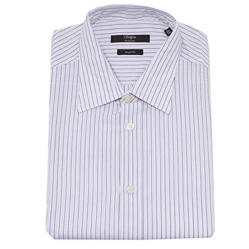 4169O camicia LINEA ZZEGNA ERMENEGILDO ZEGNA uomo shirt men [42 (16 1/2)]