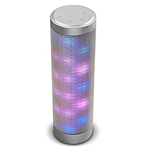 oittm enceinte bluetooth 4 0 avec jeux de lumi re led six modes garantie de remboursement. Black Bedroom Furniture Sets. Home Design Ideas