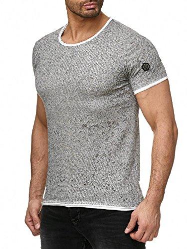 Layered Jersey-t-shirt (Red Bridge Herren T-Shirt Destroyed Layered Khaki M)